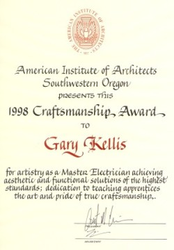 craftsman award