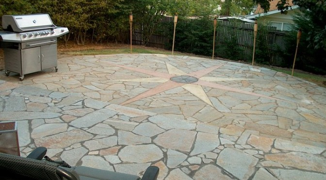 Backyard Patio Featured in Register Guard